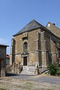 Authe (08 Ardennes) - l' Église Saint-Martin - Photo Francis Neuvens.JPG