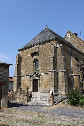 Authe (08 Ardennes) - l' Église Saint-Martin - Photo Francis Neuvens.JPG