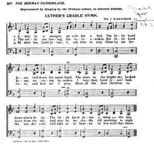 Away in a Manger - Sheet Music
