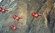 Axalp F-5E Patrouille Suisse