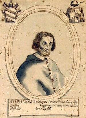 Stephen I Báncsa - Stephen Báncsa in 1255