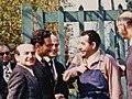 Bülent Ecevit, Monet House visit, Paris, April 1974 (15601226113).jpg