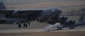 B-52H Stratofortress takes off from Minot Air Force Base, N.D., Oct. 30, 2016, during exercise Global Thunder 17.png