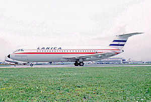 LANICA - BAC 1-11 of LANICA at Miami in October 1970