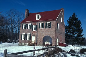 National Register of Historic Places listings in Camden County, New Jersey - Image: BARCLAY FARM HOUSE