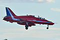 "BAe Systems Hawk 128 T.2 Royal Air Force ""Red Arrows"" XX311 (9704246724).jpg"