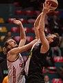 BC vs Flyers (ABL) Hubalek Lamesic 01.jpg