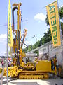 BERETTA T57 geo drilling rig at Construct Expo Utilaje 2010.JPG