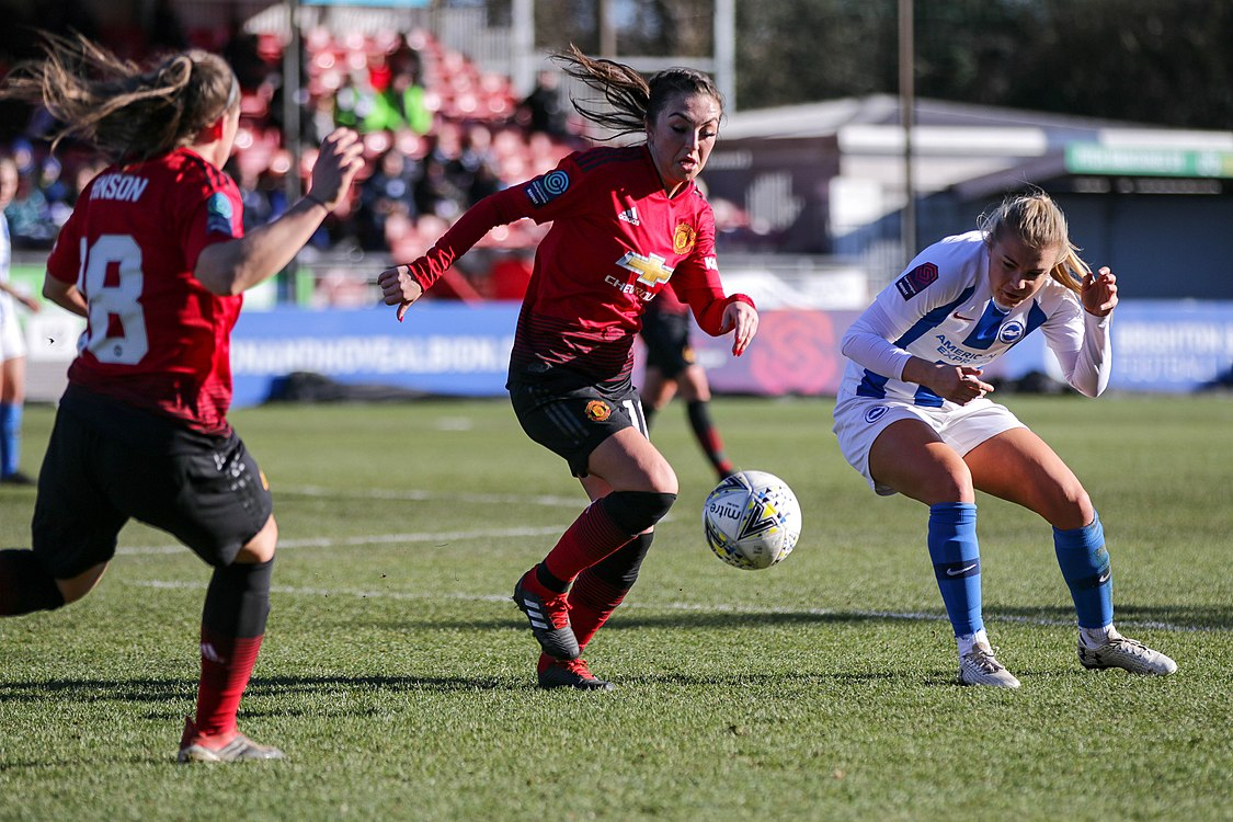 BHA Women 0 Man Utd Women 2 WFAC 4th rd 03 02 2019-948 (32044810607).jpg