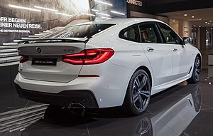 BMW 6 Series (G32) - Rear view of 640i xDrive GT