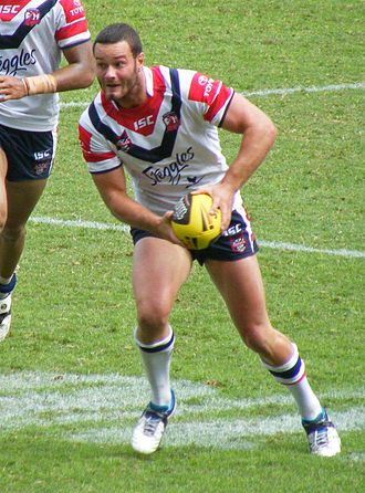 Boyd Cordner - Boyd Cordner playing for the roosters