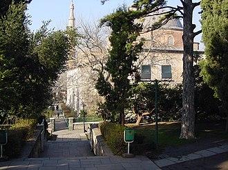 Green Mosque (Bursa) - Richly decorated Iwan
