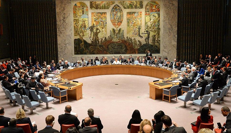 Bachelet en Consejo de Seguridad de la ONU (2015)