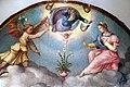 Bachiacca, annunciazione con dio padre e i ss. sebastiano, nicola e rocco, 1540-57 ca. 02.jpg
