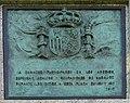 Badajoz – Obelisco 2012 – Placa Conmemorative en Español.jpg