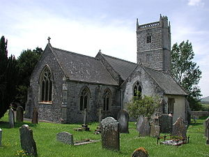 Badgworth - Image: Badgworth Church