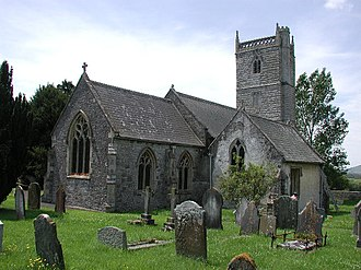 Sedgemoor - Image: Badgworth Church