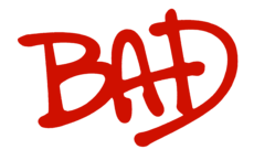 Logo del disco Bad
