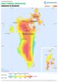 Bahrain DNI Solar-resource-map GlobalSolarAtlas World-Bank-Esmap-Solargis.png