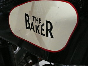 Frank E. Baker Motorcycles Ltd - Image: Baker motorcycle