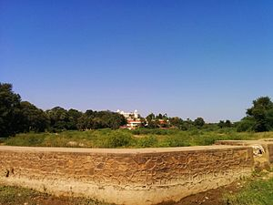 Balaram Palace - Balaram Palace from Balaram River.