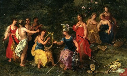 Balen Minerva among the Muses (detail)