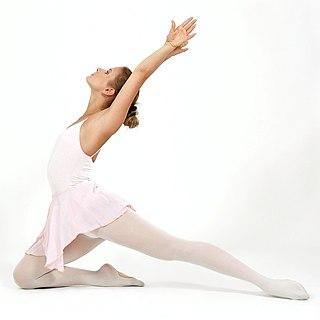 Tanz ist die Umsetzung von Ins