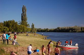 Choele Choel - Recreational river-shore in Choele Choel.