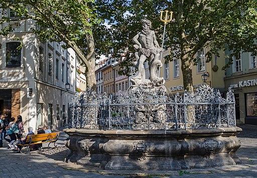 Bamberg, Grüner Markt, Gabelmannbrunnen, 20150911, 001