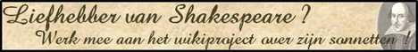 BannerWikiprojectShakespeare NL.png