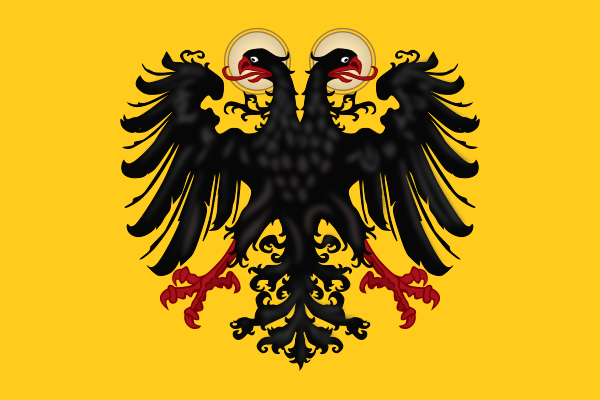 File:Banner of the Holy Roman Emperor with haloes (1400-1806).svg
