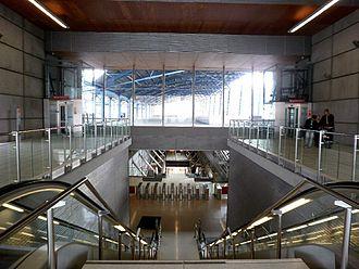 Estaci n de ansio wikipedia la enciclopedia libre for Oficinas metro bilbao