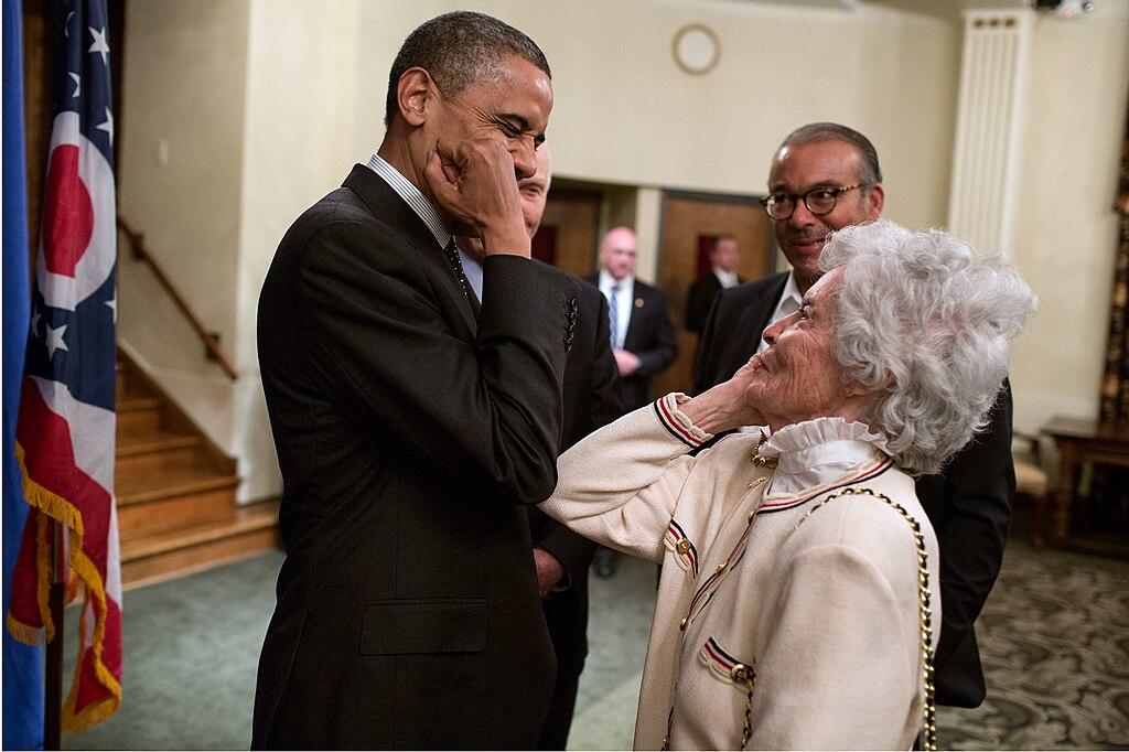 file barack obama meets annie glenn  oct  9  2012  3  jpg