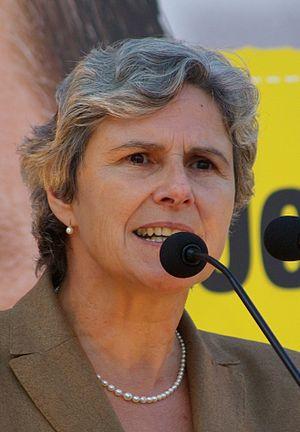 Austrian presidential election, 2010 - Image: Barbara Rosenkranz Sankt Poelten 20080918 cropped