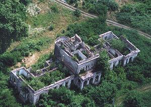 Barcs - Aerial photography: Barcs - Palace