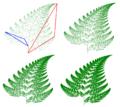 Barnsley Fern fractals - 4 states.PNG