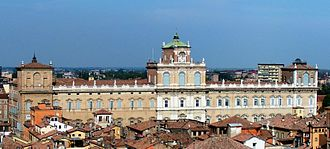 Ducal Palace of Modena - The Ducal Palace of Modena.