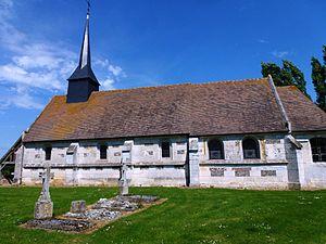 Barquet - Image: Barquet (Eure, Fr) église Saint Jean Baptiste de la Vacherie