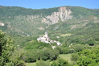 Barras, Alpes-de-Haute-Provence - Barras and the Ruth Summit