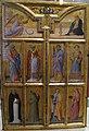 Bartolomeo bulgarini, annunciazione e otto santi, 1355-60 ca. 01.JPG