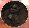 Bartolomeo melioli, medaglia di francesco II gonzaga, marchese di mantova, 1481 o 1484, 01.jpg