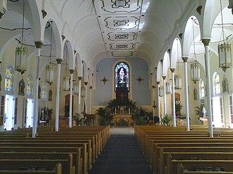 Basilica of St. Mary Star of the Sea (Key West, Florida) - The basilica's interior