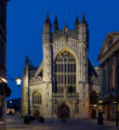 Bath Abbey at twilight - July 2006.jpg