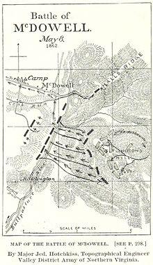 1862 VA MAP McDowell Tappahannock Colonial Beach OLD Virginia History ITS HUGE