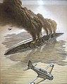 Battle of Midway- Mikuma capsizing 88-188-ac.jpg