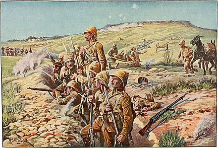 Siege of Ladysmith in South Africa Battles of the nineteenth century (1901) (14595628519).jpg