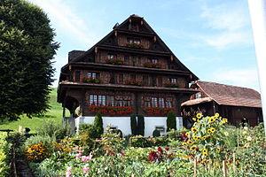 Meierskappel - Image: Bauernhof Hinterspichten, Meierskappel IMG 4777