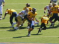 Bears on offense at UCLA at Cal 2010-10-09 12.JPG