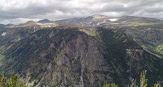 Beartooth Mountains - Image: Beartoothmountain