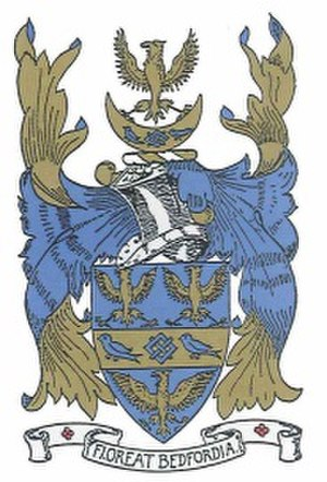Bedford Modern School - Bedford Modern School: coat of arms